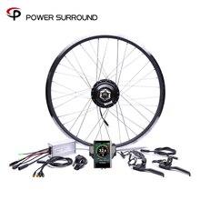 Affichage couleur étanche 48v500w Bafang Cst arrière Cassette électrique Kit de Conversion de vélo moteurs de moyeu 20 »26» 28»roue de moteur