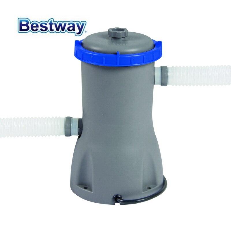 58386 Bestway 800Gal Filter Pump 3028L/Hr Swimming Pool Flowclear Filter Swimming Pool Water Cleaner Electric Circulating Pump