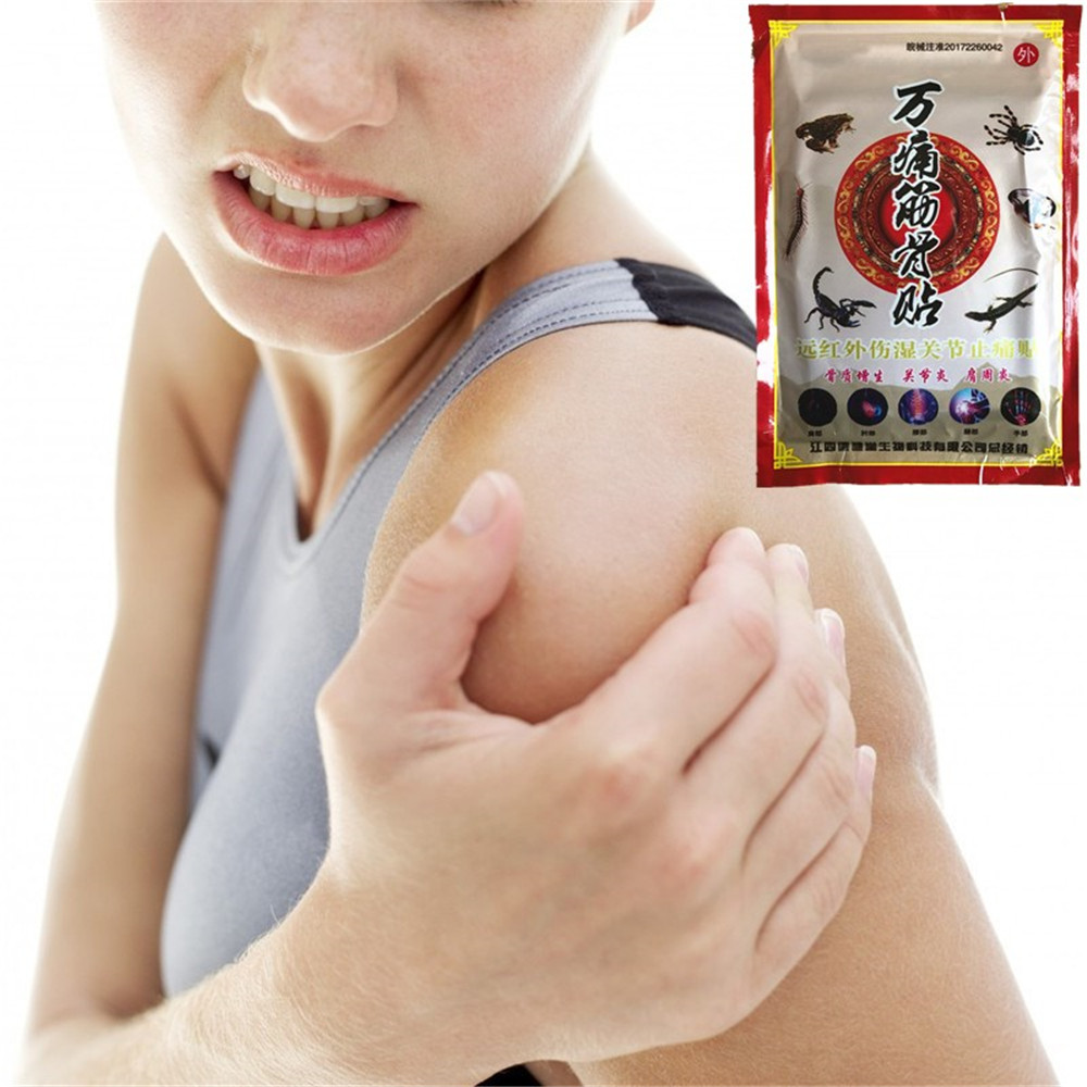 Beauty & Health Essential Oil Aggressive Miyueleni 8pcs/1bag Far Ir Heating Massage Essential Oil Medical Spider Venom Pain Relief Patch Knee Back Body Plaster To Enjoy High Reputation At Home And Abroad