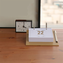2018 Business Office Notepad Desk Table Calendar Can Replace the Inside Pages Office Supplies