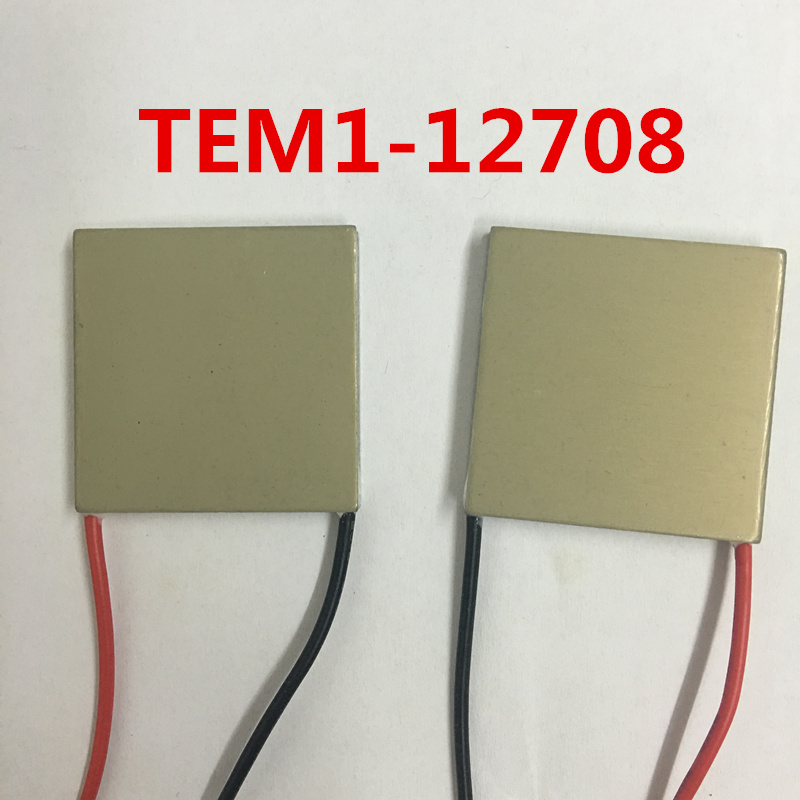Superconducting Aluminum Semiconductor Thermoelectric Cooler 40*40 TEM1-12708 12V8A Rapidly Temperature difference MCU Cooler