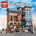 DHL Lepin 15011 Parsian Experto Creador Ciudad Calle Restaurante Mini bloques Vengadores Conjunto Ensamblar Bloques de Construcción de Juguetes