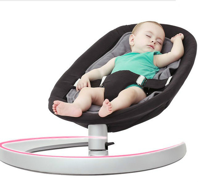 Baby cradle newborn baby rocking chair comfort chair no radiation 2017 new babyruler portable baby cradle newborn light music rocking chair kid game swing