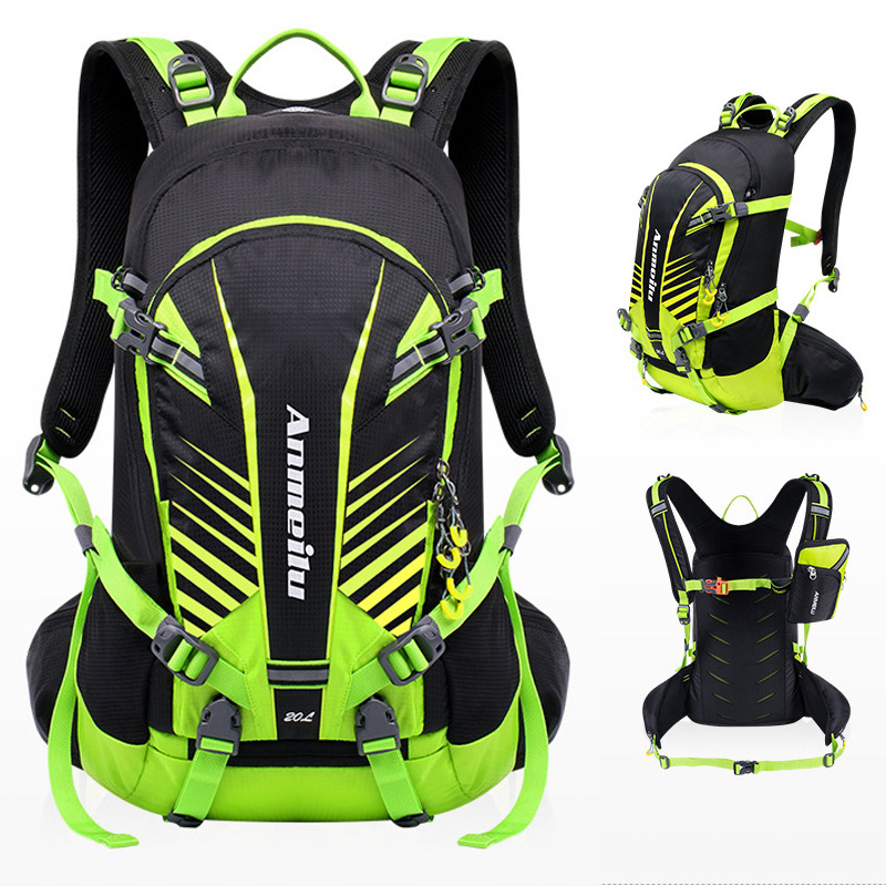 ANMEILU Backpack Breathable Ultralight Hiking Outdoor-Bags Travel Waterproof 20L Sports