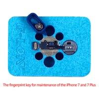 Uanme специального назначения отпечатков пальцев Главная Кнопка Ремонт База светильник техническое обслуживание на платформе для iPhone 7/7 P 7 Plus...