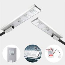 Уличный светодиодный фонарь на солнечной батарее 50 Вт 100 150