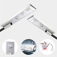 50W 100W 150W LED solar street light Outdoor Waterproof IP66 Integrated design 5 Working Modes PIR sensor Smart light