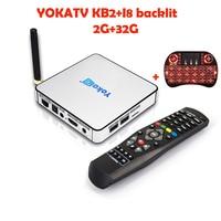 5pcs YOKATV KB2 Android TV Box 2GB 32GB Amlogic S912 Octa Core 2 4G 5GHz Dual