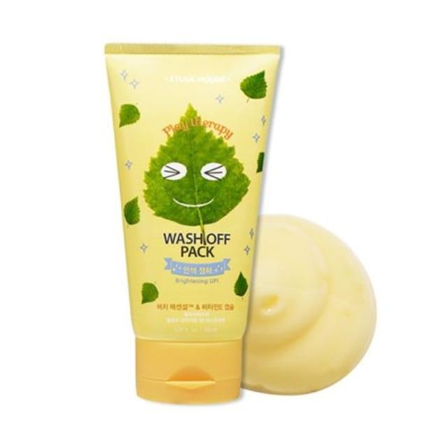 Original Korea Play Therapy Wash Off Pack 150ml Brightening Skin Face Mask Skin Care Whitening Moisturizing Facial Masks