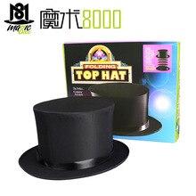 Складной топ шляпа с загадкой волшебный трюк костюм аксессуар сценический реквизит Волшебная Шляпа