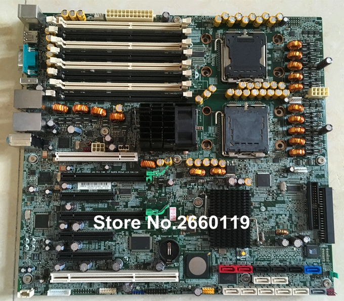 Workstation motherboard for XW8600 439241-002 439241-004 480024-001 system mainboard, fully tested