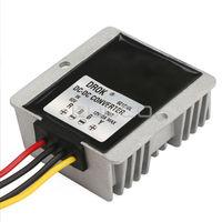 DC Car Buck Converter Adapter Waterproof DC 60V(20V~72V) to 12V 10A 120W Power Supply Module Voltage Regulator Driver Module