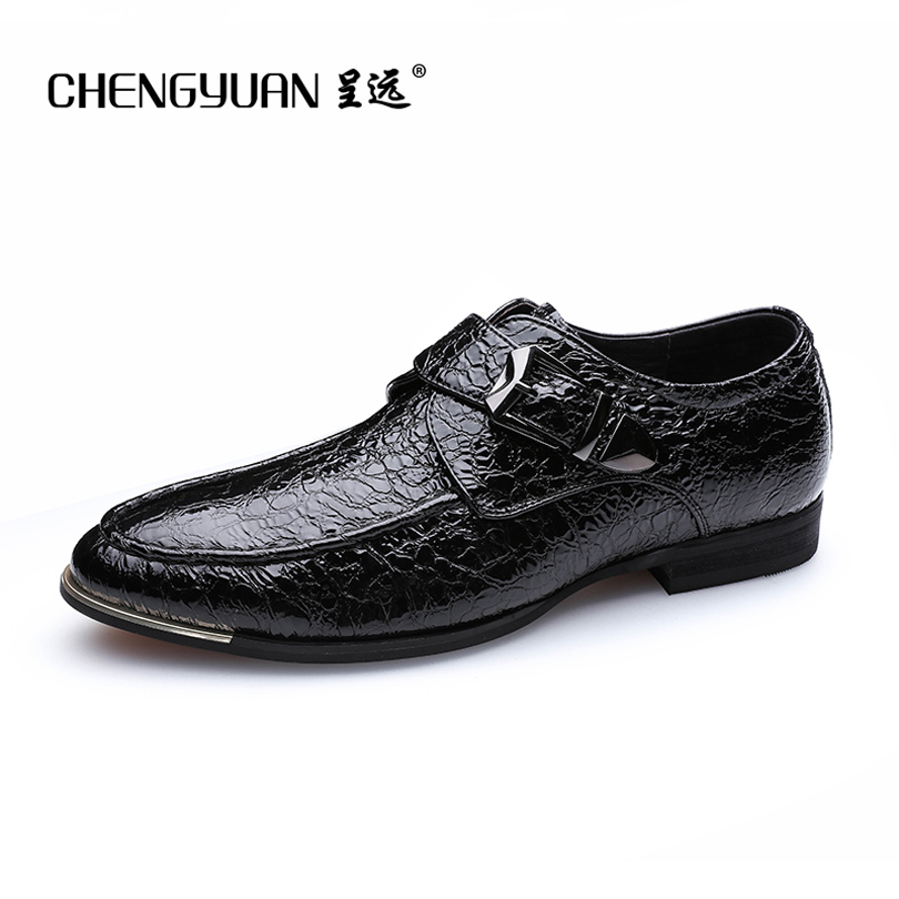 ФОТО CHENGYUAN Men's simple business point toe black increase 6cm casual leather shoes fur lace up leather shoes 36-46 CY719