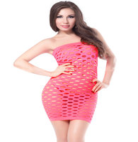 Sexy Women S Ladies Hollow Out Holes Dress Light Tube Dresses Pink So Hot LOVIW