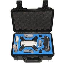В наличии realacc Водонепроницаемый жесткий рюкзак сумка RC Quadcopter Запчасти цвет желтый, синий; размеры 34–43 черный чемодан поле для DJI Spark