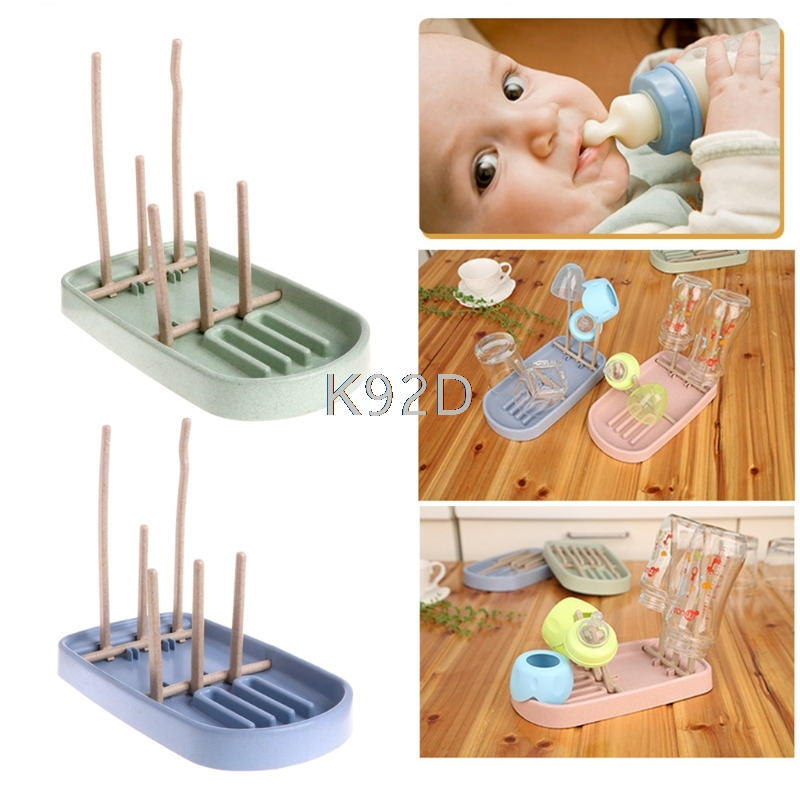 Foldable Baby Infant Feeding Bottle Cup Rack Drying Storage Drainer Stand Holder N23