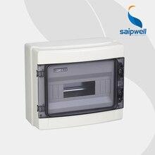 Saipwell Hot Sale good quanlity ip65 12 ways Plastic Electrical Distributing Box 295*255*130mm High Quality SHA-12