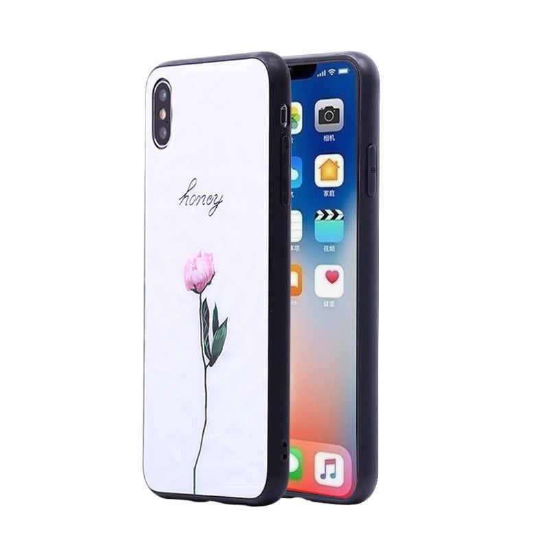 Мягкий ТПУ силиконовый + акриловый чехол для iphone 6, 6 S, 7, 8 Plus, 5, 5S, SE, X, XR, XS Max, роскошный чехол с бриллиантами