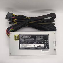PSU Power-Supply Industrial-Server PFC 600W 100-240V 80PLUS 2U Active with The-Switch