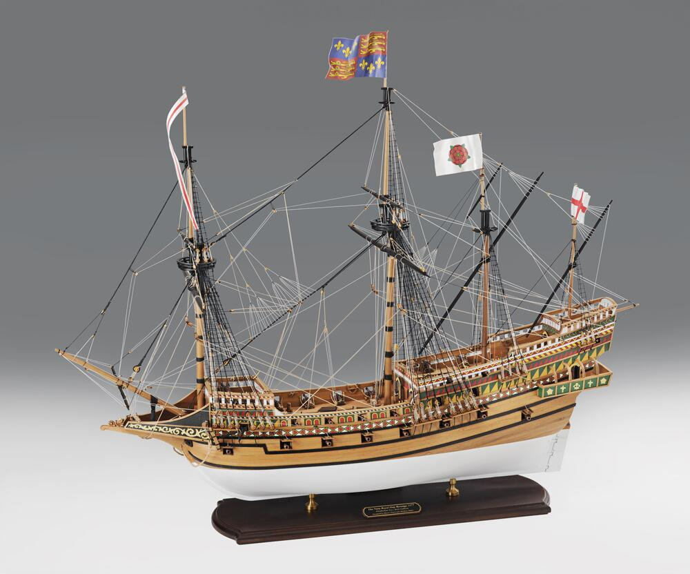"REVENGE 1577 Drake/'s flagship Scale 1//96 23/"" Wood Ship Model kit"