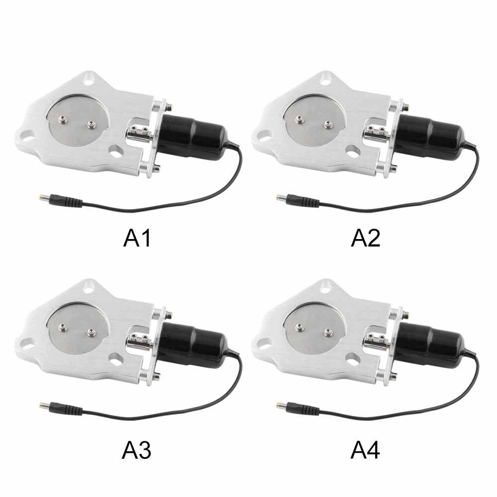 Vanne de commande à distance avec interrupteur électronique 2-3 ''en acier inoxydable