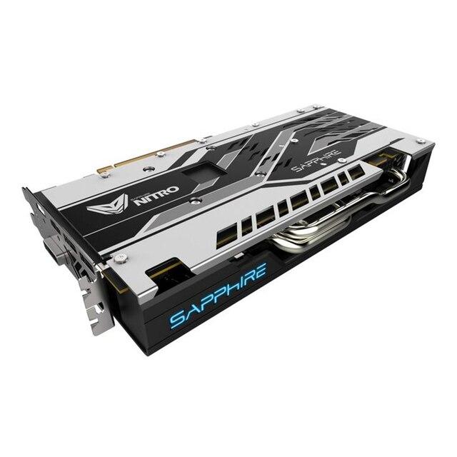 SAPPHIRE Graphics card NITRO Radeon RX580 8G  256bit AMD GDDR5 8000MHz 1411MHz DirectX 12 2304units video card for Gaming 4