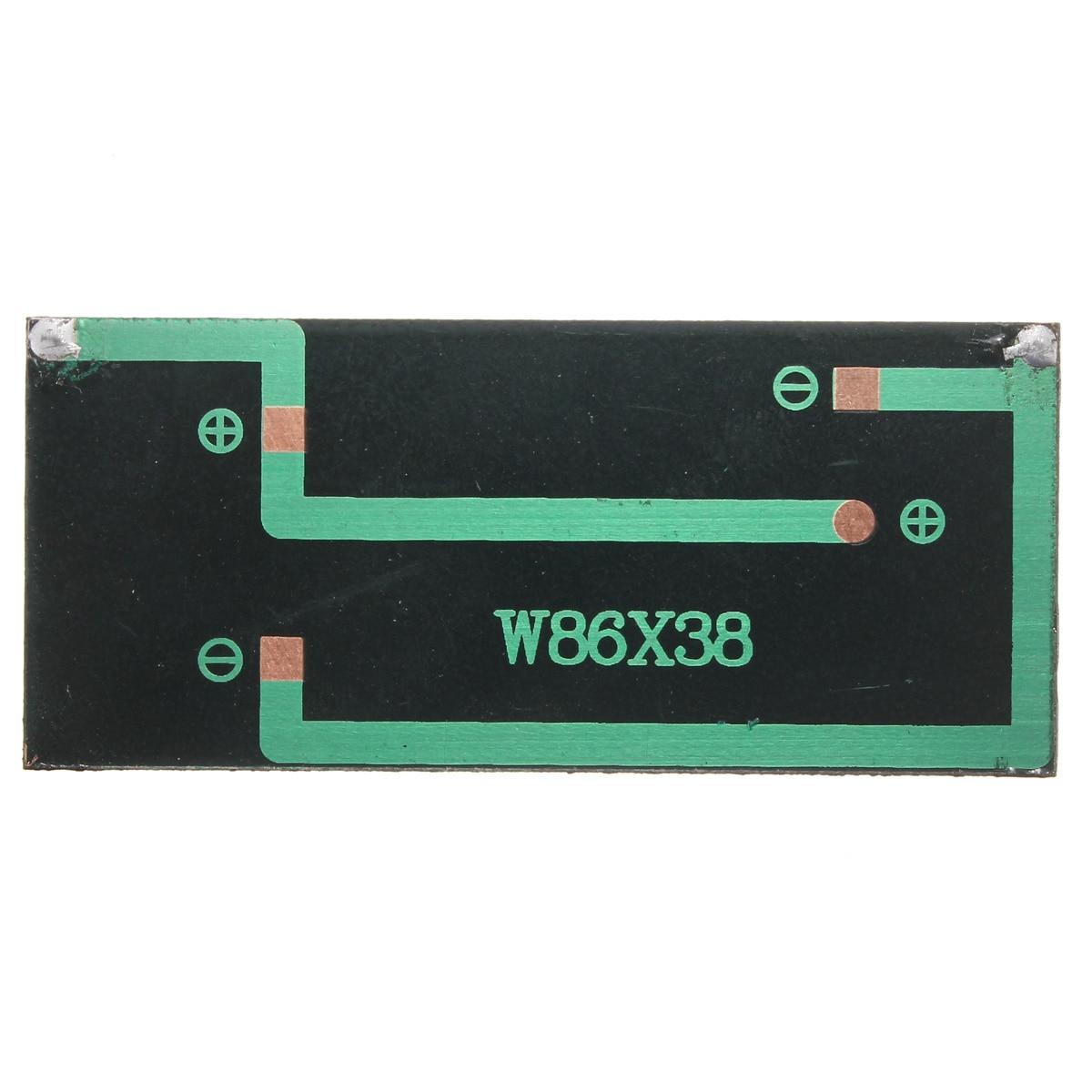 Panneau solaire bricolage 5 V 0.5 W 100 mAh silicium polycristallin époxy Mini Batterie Modèles