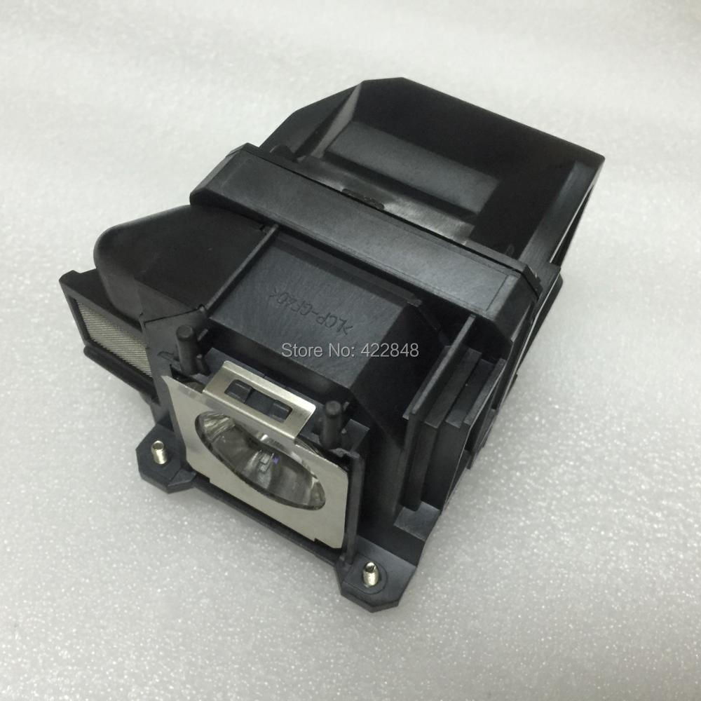 ELPLP78 / V13H010L78 original projector lamp for Epson EB-SXW03/EB-SXW18/EB-W03/EB-W18/EB-W22 projectors eb x03 eb x18 eb x20 eb x24 eb x25 eh tw490 eh tw5200 eh tw570 ex3220 ex5220 ex5230 projector for v13h010l78 elplp78 for epson