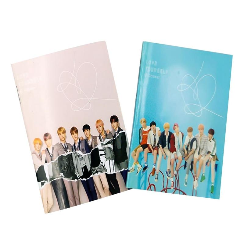 Suche Nach FlüGen 1 Pc Kawaii Bangtan Boys Mini Tagebuch Übung Buch Jimin V Cartoon Notebook Kpop Bts Offizielle Koreanische Sterne Schreibwaren Mangelware Notebooks