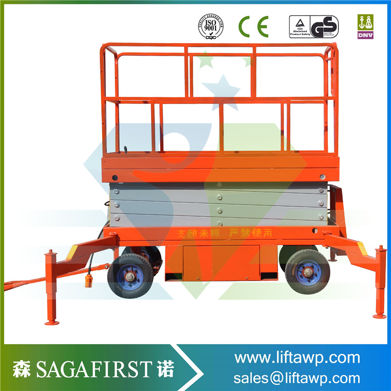 Full Electric Hydraulic Scissor Lift Table electric table truck platform ...