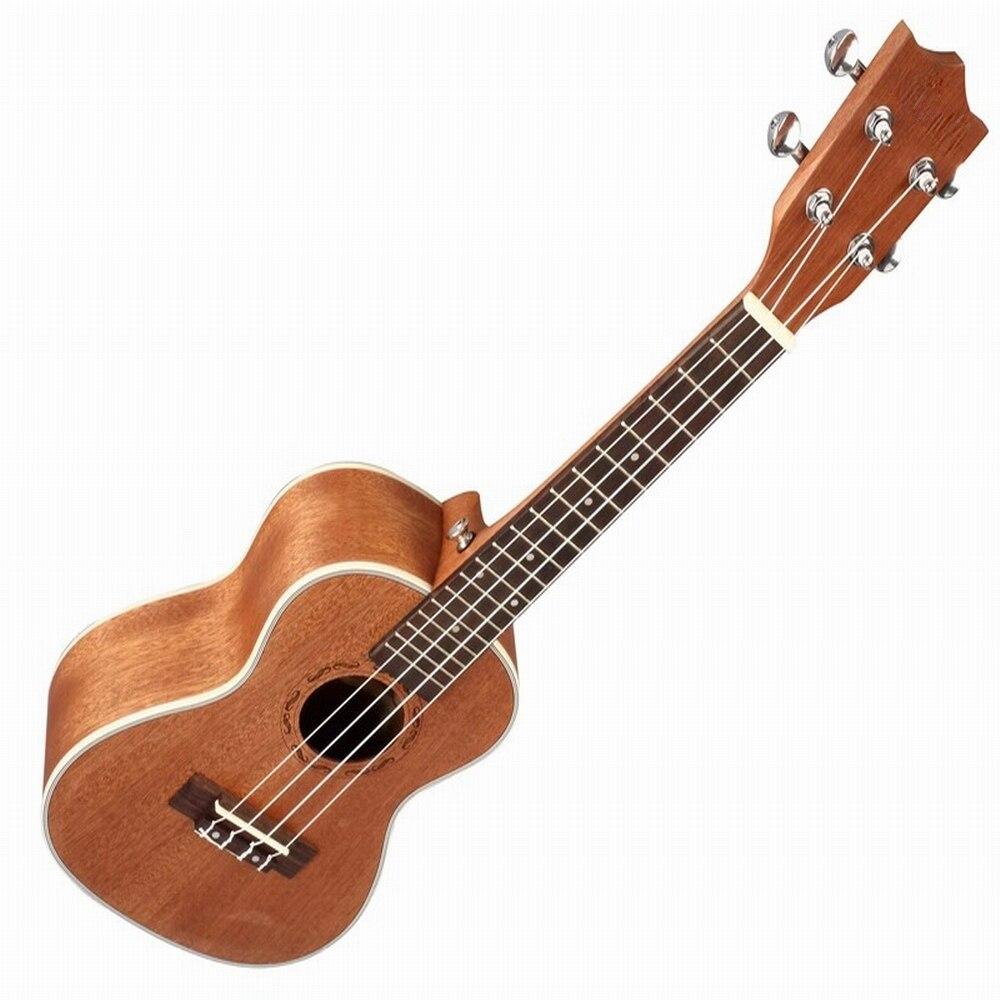 Famille concert Mode 23 ''Style Shabiri bois Hawaï Ukulélé Uke 4 Cordes Basse Guitare Pour Musical Instruments À Cordes