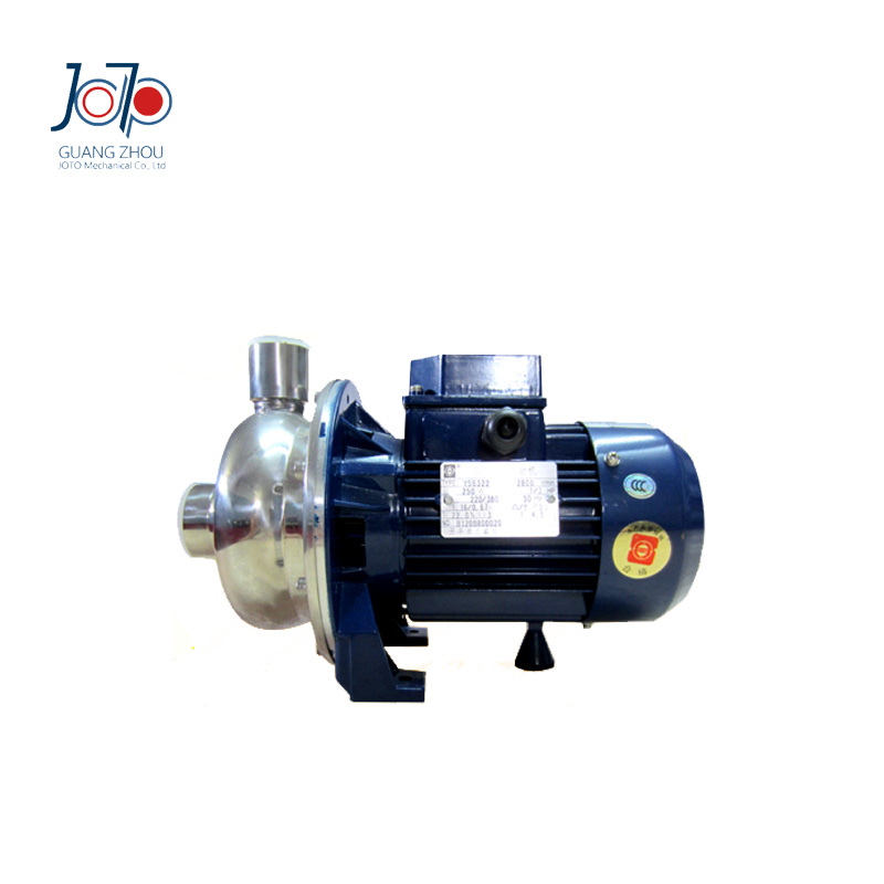WB70/055D 220V 50Hz Single Phase Stainless Steel Centrifugal Water Pump Sanitary Pump Beverage Pump Circulating Dishwasher Pump 1 2hp 220v 50hz single phase small stainless steel centrifugal water pump sanitary pump beverage pump dishwasher pump