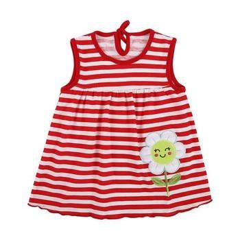 2019 Summer Baby Dress Beautiful  Fashion Girls Infant Princess Dresses A-Line Cotton Children Soft Clothes Kids Clothing Dress 1