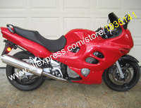 Лидер продаж, красный корпус для Suzuki Katana GSX600F GSX750F 03 04 05 06 GSX 600F GSX 750F 2003 2004 2005 2006 мотоцикл комплект обтекатель