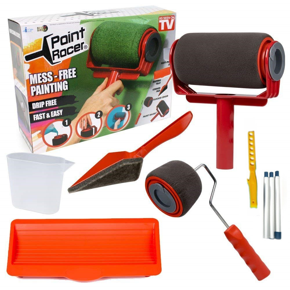Decorating 5 Pack Roller Grid Size Choice DIY Reusable Painting Tools