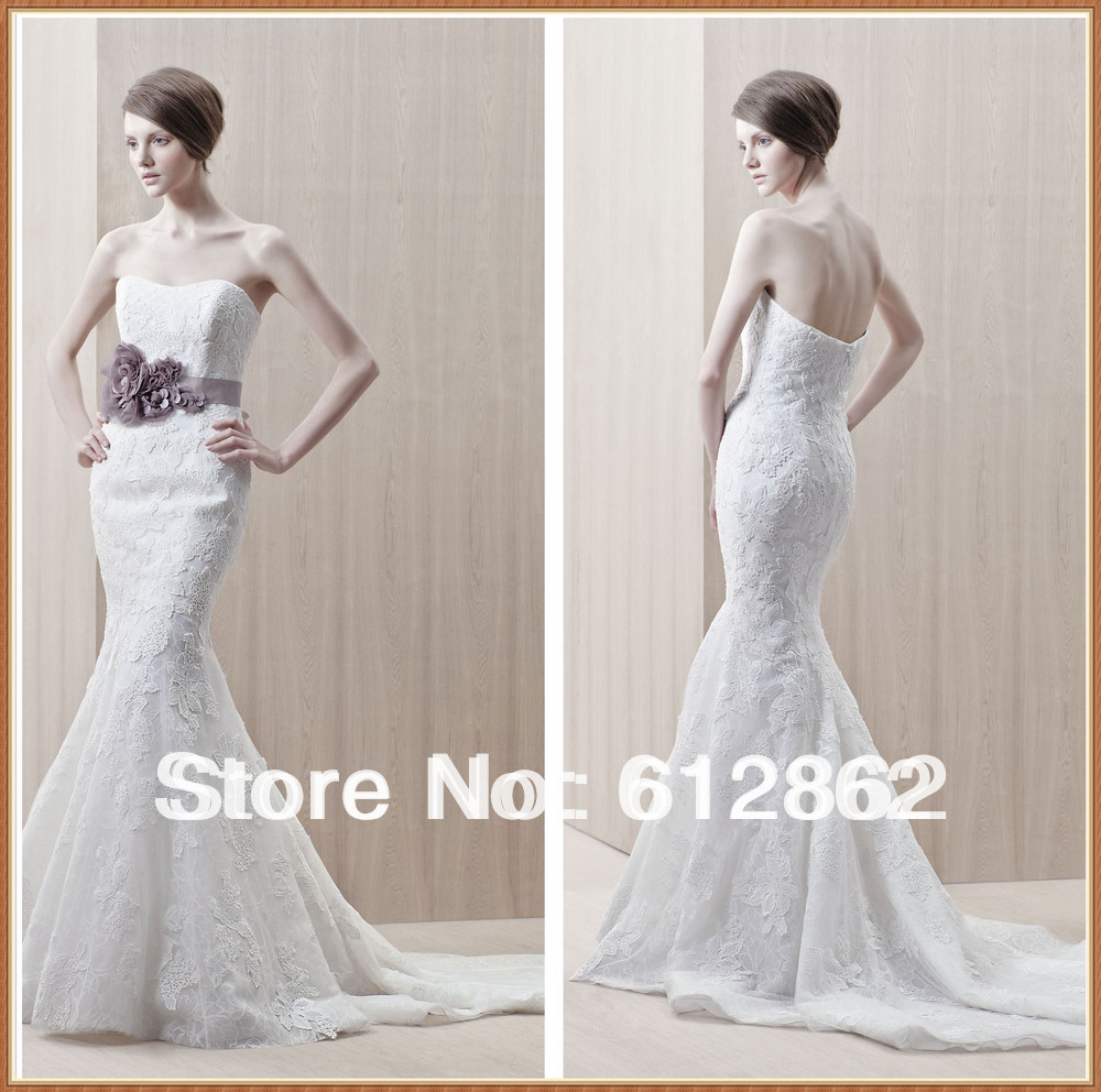 Online buy wholesale sweetheart low back lace wedding for Lace wedding dress patterns to sew