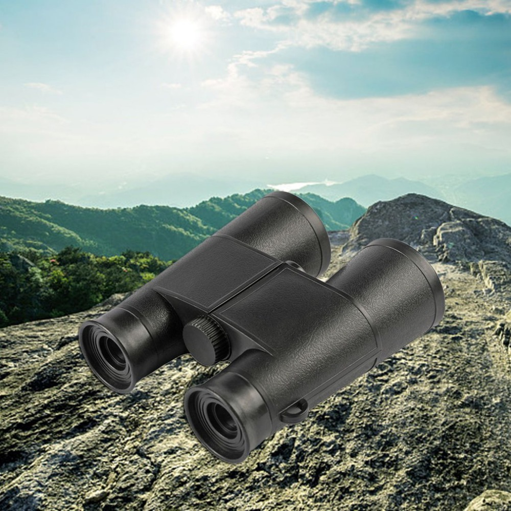 New Compact Kids Binoculars Set With High Resolution Real Optics For Bird Watching Amazing Presents Gifts Toys For Boys Girls image