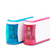 Electric pencil sharpener electric stationery plastic sharpeners learning supplies