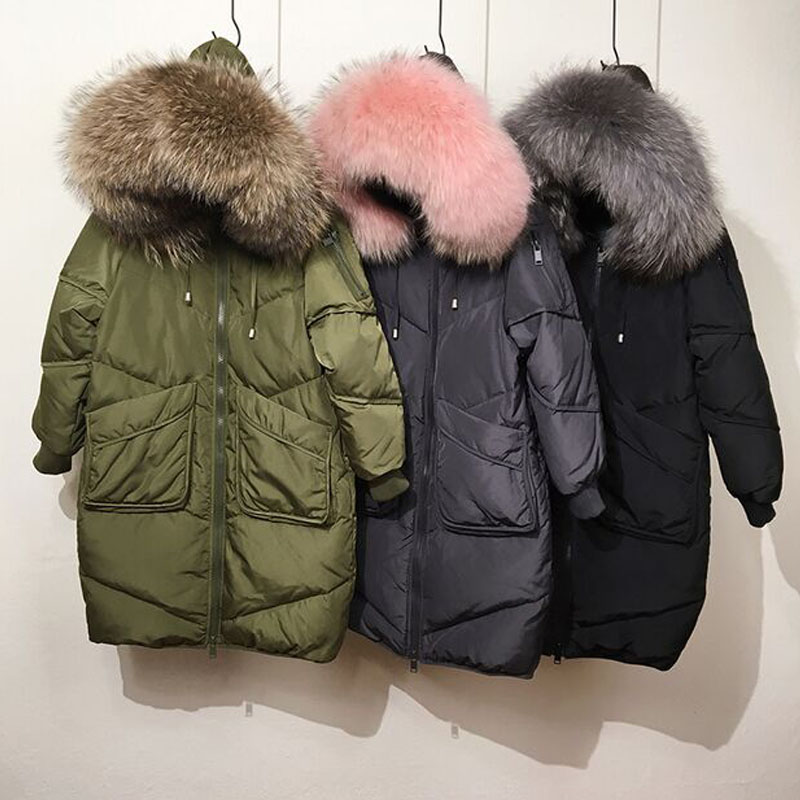 Taille rose Big Nouvelle Femmes Fourrure Veste Capuchon Femelle Réel Fur Fur Laveur Red Manteau Plus color Énorme Chaud Parka Fur green Raton 2018 Canard blue Fur À De grey Duvet black Fur D'hiver Fur Blanc Blue Naturel pink La Fur Fur brown x0HvwqSnf