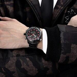 Image 3 - Naviforce mens 시계 쿼츠 아날로그 럭셔리 패션 스포츠 손목 시계 방수 스테인레스 남성 시계 시계 relogio masculino