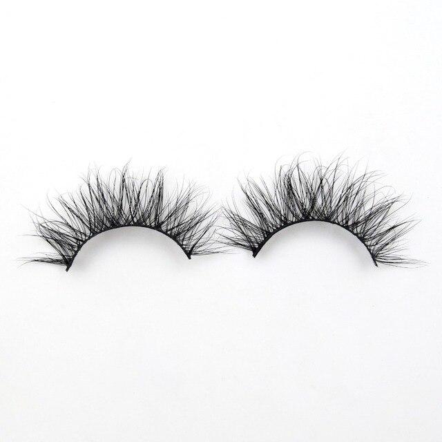 d2e647746b9 Visofree Eyelashes Natural Long 3D Mink Lashes Cruelty-free False Eyelashes  Makeup Mink eyelashes Handmade Reusable Eyelashe E12