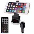 New Universal  Hot Wireless Bluetooth LCD MP3 Player Car Kit SD MMC USB FM Transmitter Modulator