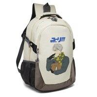 Yuri On Ice Unisex Backpack Cartoon Japan Anime Victor Nikiforov Yuri Plisetsky Cosplay Shoulder Bag Rucksack Mochila Escolar