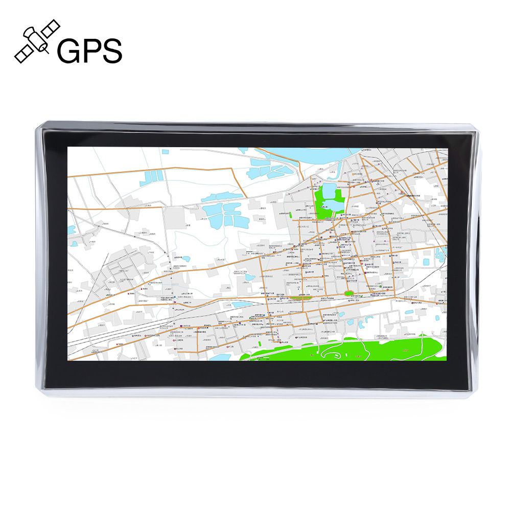 X7 7 inch Truck Car GPS Navigation Navigator Win CE 6.0 800*480 Touch Screen Multi-media Player with Free Maps