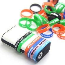 30*34*10mm Anti-Slip Electronic Cigarette Band Silicon Ring Mechanical Mod Decorative Protection(China)
