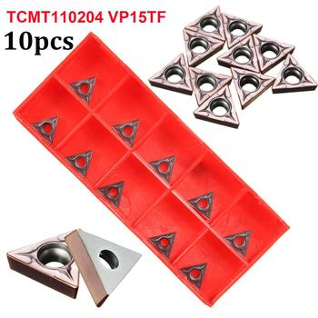 10pcs TCMT16T304 VP15TF TCMT32.51 Carbide Inserts CNC Lathe Tool Boring Blades