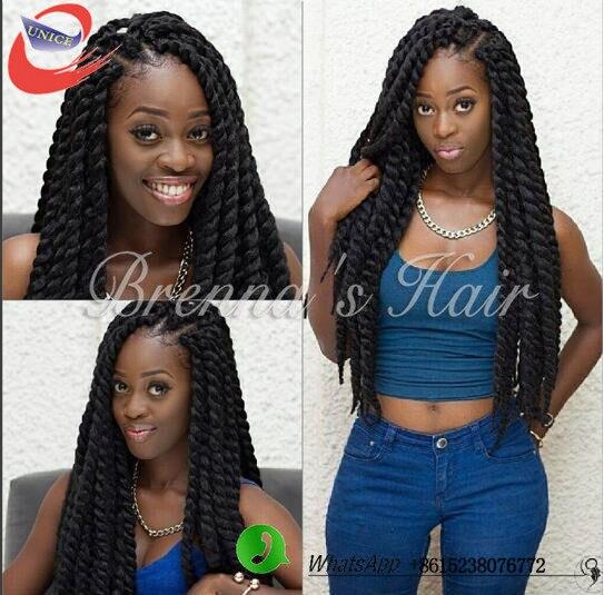 Aliexpress.com : Buy Crochet havana mambo twist hairstyles synthetic  braiding hair extension havana senegal twist 2x havana braids black purple  grey from ... - Aliexpress.com : Buy Crochet Havana Mambo Twist Hairstyles