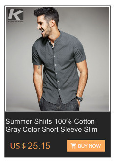 c07566a7f065 KUEGOU Men s Patchwork Zipper Shirt - Gray Press Apparel