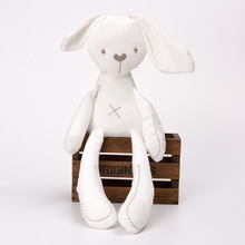 42CM PP Cotton Cute Rabbit Doll Baby Soft Plush Toys Bunny Sleeping Mate Stuffed &Plush Animal For Infants
