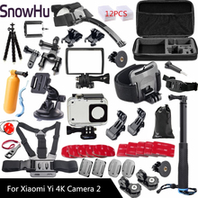 Xiaomi Yi 4K Accessories Selfie Monopod Stick Octopus Tripod For Xiaomi Yi 4K Yi2 Action International Action Camera 2 II  GS27 international xiaomi yi 4k plus action camera 2 19 ambarella h2 for sony imx377 12mp 155 degree 4k sports camera touchscreen